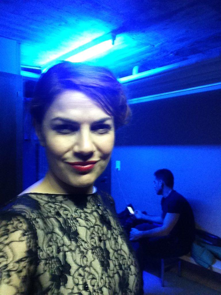 Natalia Guevara - on stage - tango geneve