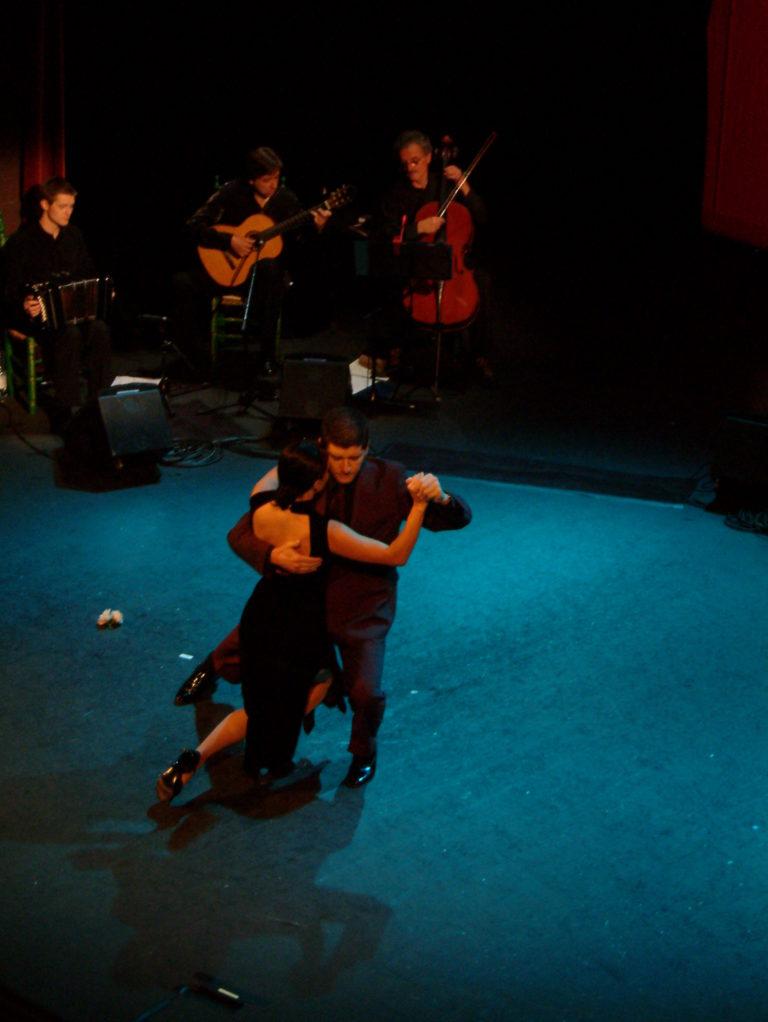 Natalia Guveara y Claudio Blanc- tango geneve 1