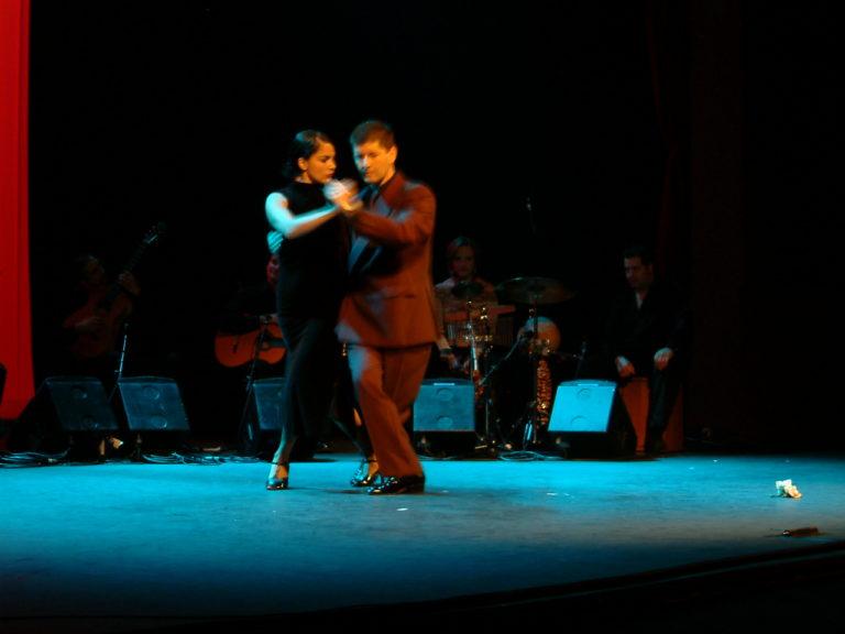 Natalia Guveara y Claudio Blanc- tango geneve
